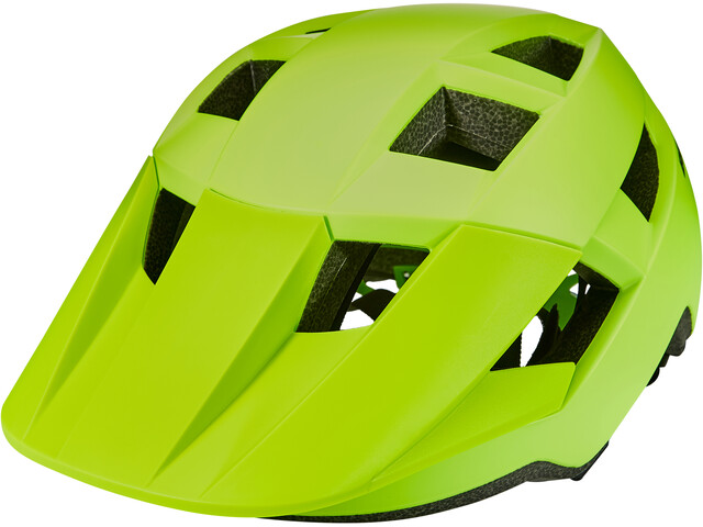 Bell Spark Casco Niños, matte bright green/black